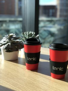 Re-usable Printed Coffee Cup