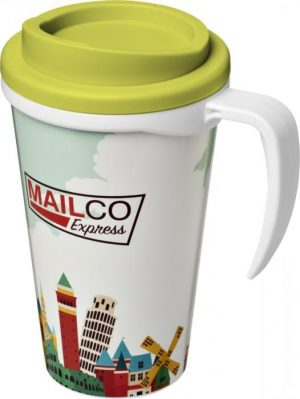 350ml Insulated Tumbler with Lime Lid