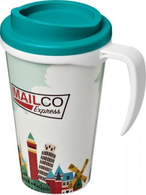 350ml Insulated Tumbler with Aqua Lid