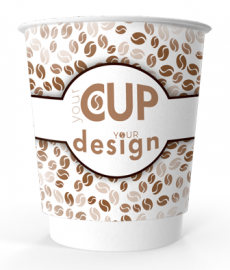 Double Walled Printed Coffee Cup
