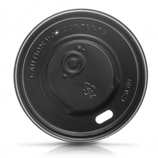 black lid for coffee cups