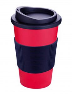 red coffee ecocup
