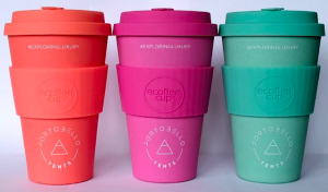 Re-usable Printed Coffee Cups