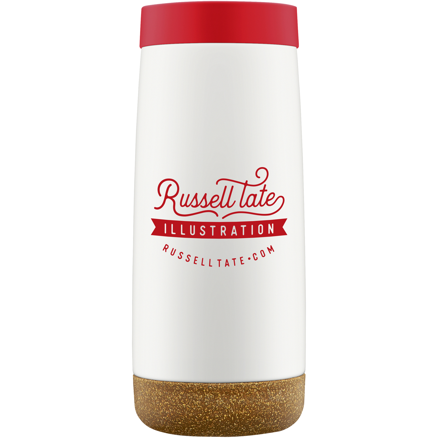 Cole 16oz Insulated Stainless Steel Travel Mug Branded