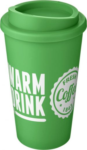 Green Insulated Tumbler with Green Lid