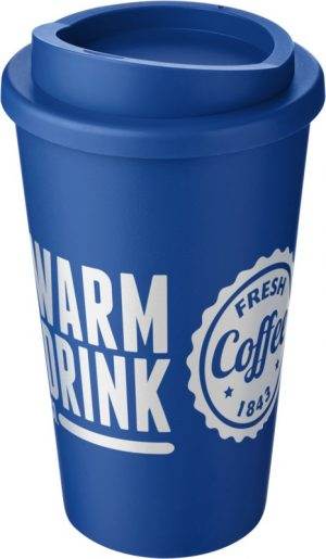 Mid Blue Insulated Tumbler with Mid Blue Lid
