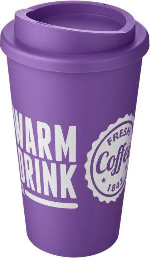 Purple Insulated Tumbler with Purple Lid
