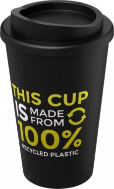 Black Recycled and Insulated Tumbler
