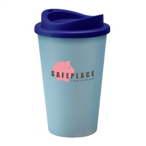 Aqua Universal Cup with Blue Lid